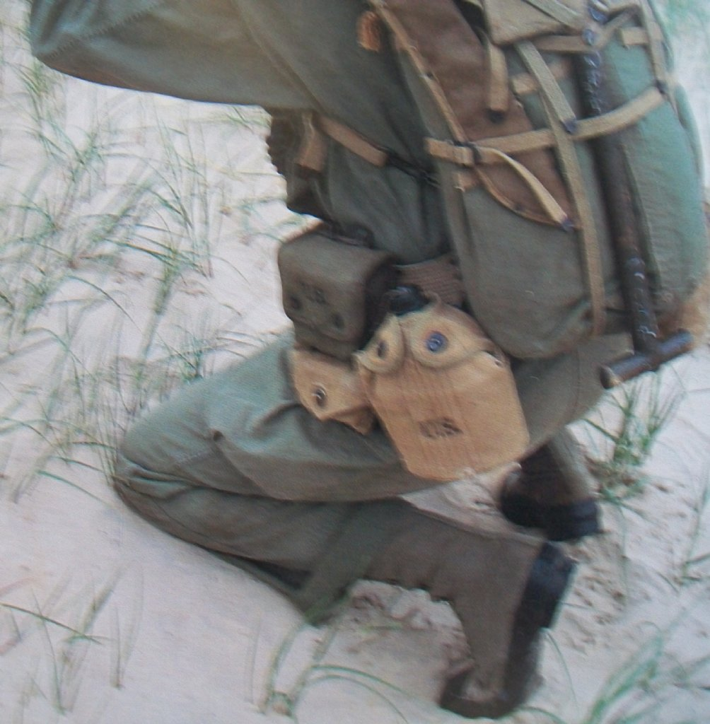 K 228 Ngor Jungle D Day M42 Canvas Rubber Boots Ww1 Ww2