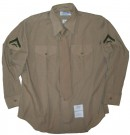 Skjorta+Khaki+++Slips+USMC+Private:+XL