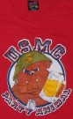T-Shirt+USMC+Party+Animal+Vietnam+Era+Soffe:+L