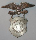 Sheriffstjärna U.S. Marshal Dodge City Original