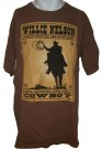 Willie Nelson Whiskey River T-Shirt : L