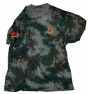 T-Shirt Digital Desert PLA Kina Special Forces: XL