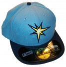 Keps New Era On Field Tampa Bay Rays 3rd: 58