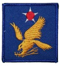 Tygmärke+2nd+USAAF+US+Army+Air+Force+WW2
