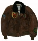 G-1 Skinnjacka Top Gun US Navy: M