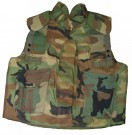 Kroppsskydd Body Armor Ground Troops Woodland