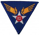 Tygmärke+12th+USAAF+US+Army+Air+Force+WW2
