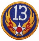 Tygmärke+13th+USAAF+US+Army+Air+Force+WW2