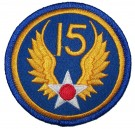 Tygmärke+15th+USAAF+US+Army+Air+Force+WW2