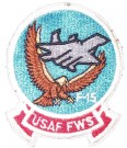 F-15 Fighter Wing Sqdn USAF Tygmärke