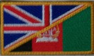 Flagga+UK/Afghanistan+Uniformsflagga
