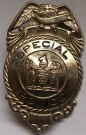 Badge Police Special New Jersey US original