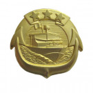 Badge US Navy Small Craft Patrol Boat Gold Original