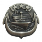 Badge US Navy Small Craft Patrol Boat Silver Original