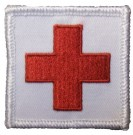 Patch Medic Sjukvårdare Sanitäter Red Cross