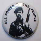 Badge Knappmärke Power to the people Black Panther