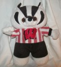 Winsconsin Badgers Supporter nalle