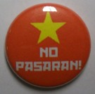 Badge NO PASARAN! Knappmärke