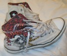 Converse Hi-Top Grateful Dead Skull Roses 41-42