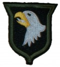 101st Airborne Division Yellow stripe Tongue