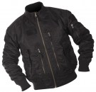 Jacka Tactical Flight Jacket Gen.III Black Svart