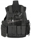 Stridsväst 11 fickor Molle Tactical Quick Release Special Ops. Black