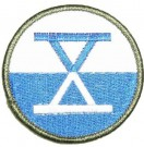 10th+X+Corps+US+Army+WW2+tygmärke+färg