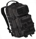 Assault Pack Tactical Ryggsäck Black: S