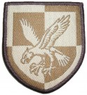 16 Air Assault Brigade Tygmärke Desert