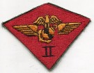 2nd Marine Air Wing USMC Tygmärke Färg Original