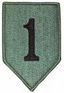 1st Infantry Division Big Red 1 ACU Kardborre