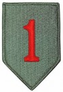 1st Infantry Division Big Red 1 RÖD ACU