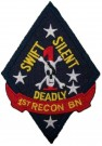 1st Recon Bn USMC Generation Kill patch