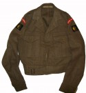 Fältjacka M49 Battle Dress Uniform WW2 original typ: S