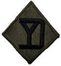 "26th Infantry Division ""Yankee"" Tygmärke subdued"