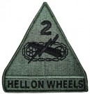 2nd Armored Division ACU Kardborre Hell on Wheels