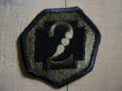 2nd Medical Brigade Combat patch Subdued