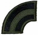 42nd Infantry Division tygmärke subdued