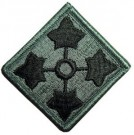 4th Infantry Division ACU Combat patch
