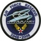 Air Force Reserve Anniversary patch Tygmärke