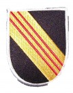 Tygmärke Special Forces Beret Flash Stor
