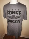 T-Shirt Marine Force Recon Para Under Armor: XL