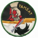 Special Forces Tygmärke Recon Team TAMSAT Vietnam War