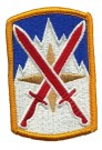 10th Infantry Mountain Division Support Brigade Färg