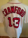 Baseball skjorta Boston Red Sox #13 Crawford MLB: M