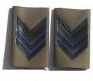 Axelklaffar Epåletter Rank-slides Sergeant Major Navy Italien