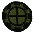 35th Infantry Division Tygmärke SubDued