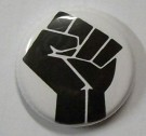 Badge Knappmärke Black Power