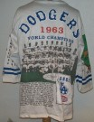 Los Angeles Dodgers MLB Baseball tröja 1963: L