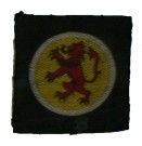 Uniformsmärke Royal Scots WW2 Original typ